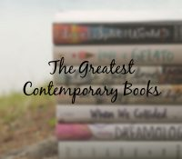 Contemporary Books Everyone Needs to Read