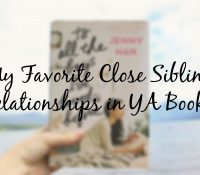 Books With Wonderful Sibling Relationships