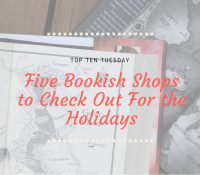 Five Shops For the YA Lover in Your Life