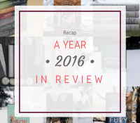A Year in Review: All the Amazingness that was 2016