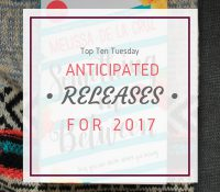 Ten 2017 Book Releases for the First Half of the Year
