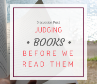 Should We Judge Books Before We Read Them?