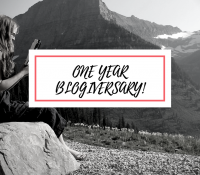 My Top Ten Favorite Books I've Read in the past Year + 1 Year Blogiversary!