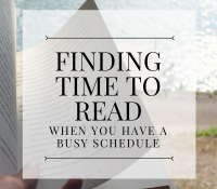How You Can Find More Time to Read